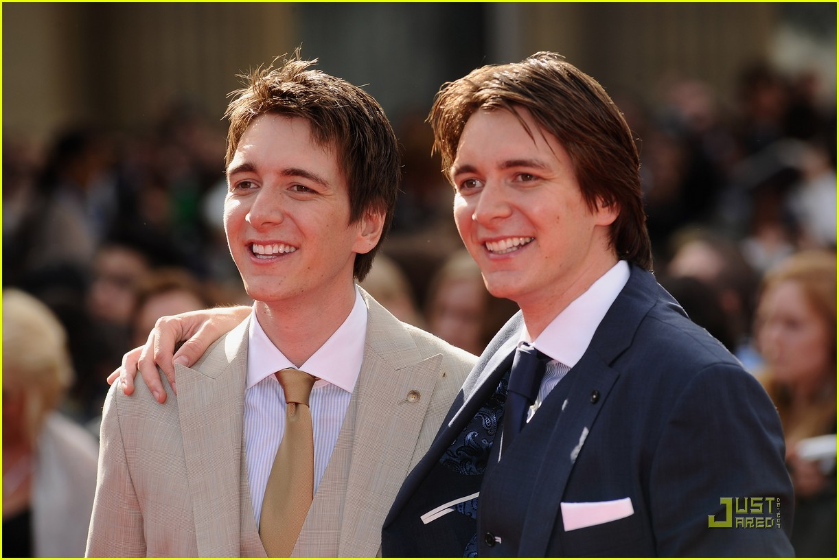 Young James Phelps And Oliver Phelps