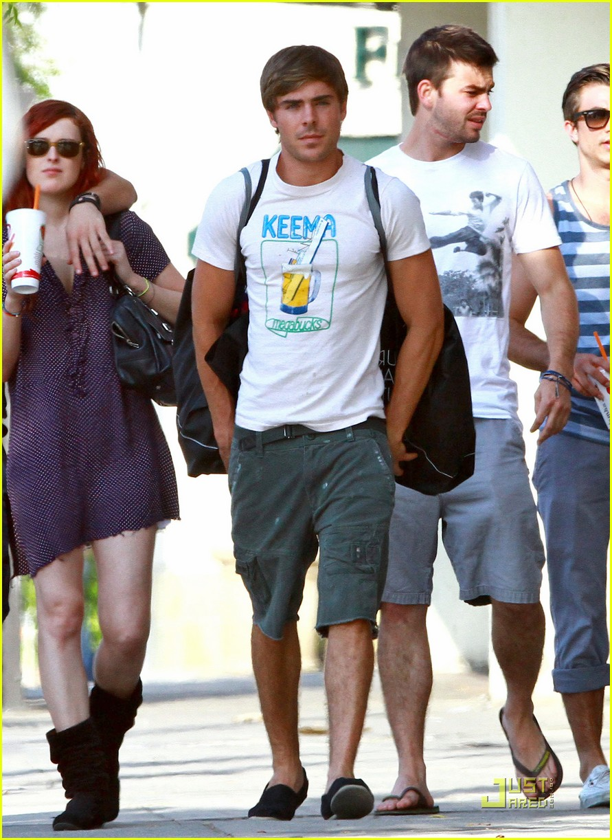 zac efron ryan rottman shopping 02