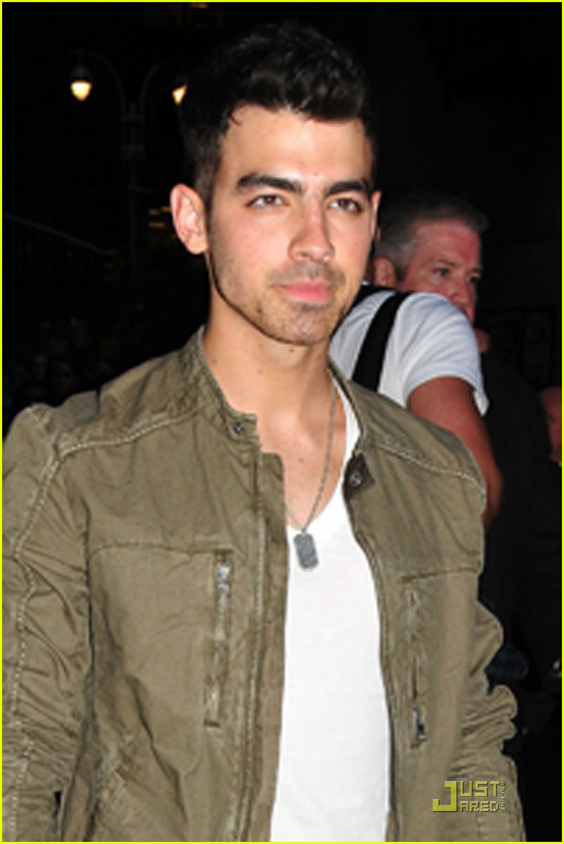 joe jonas letterman 05