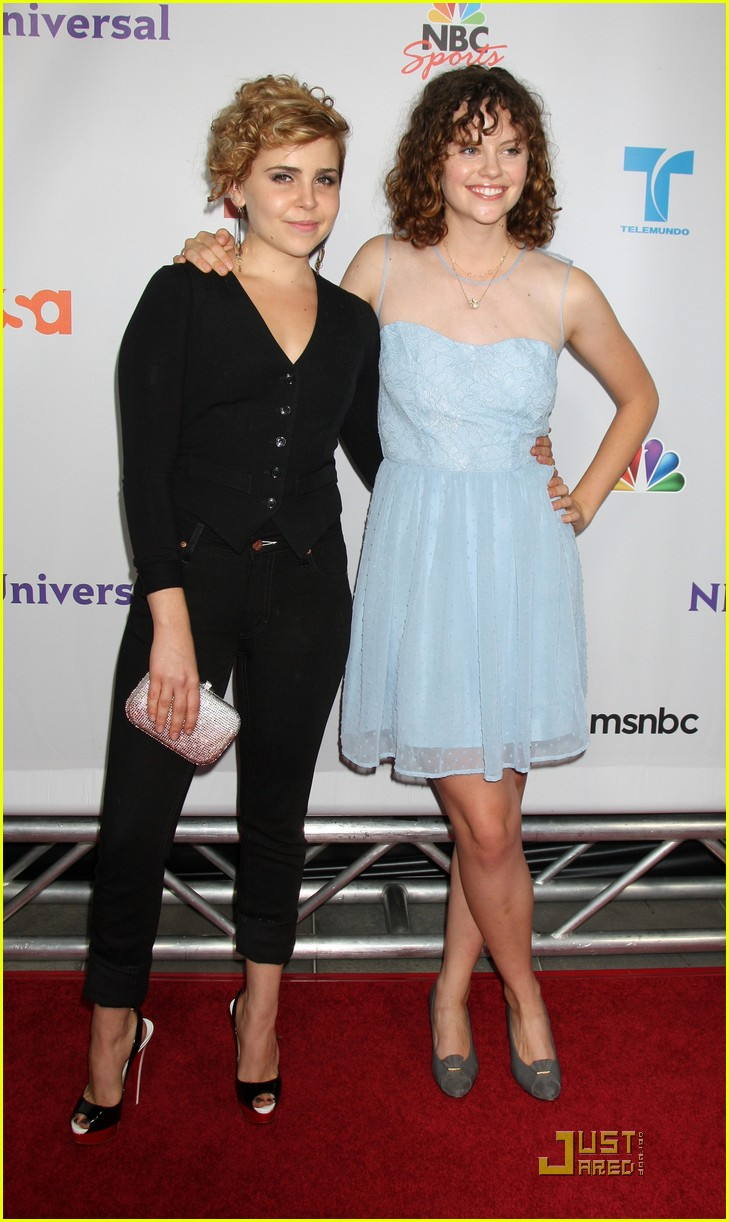 mae whitman nbc party 08