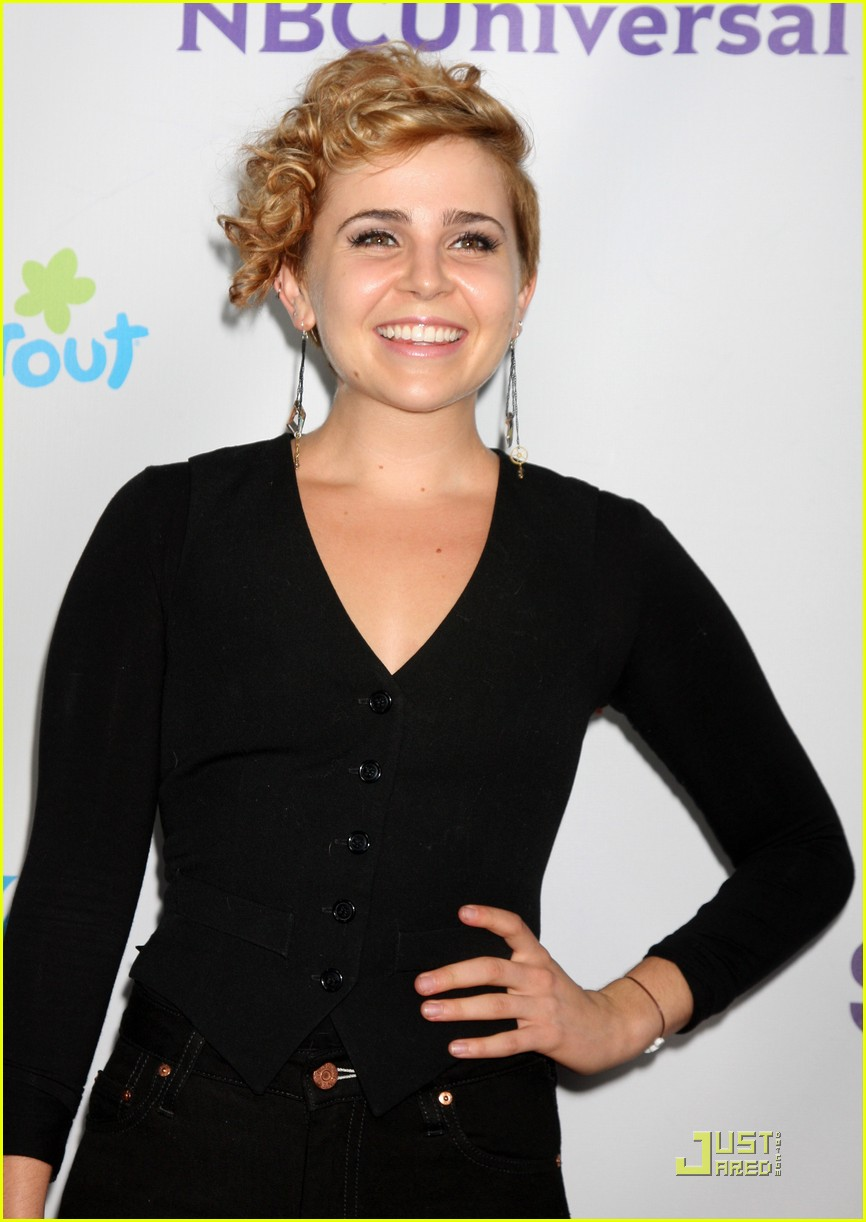 mae whitman nbc party 12