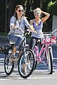 Tisdale-duff ashley tisdale haylie duff bikes 06
