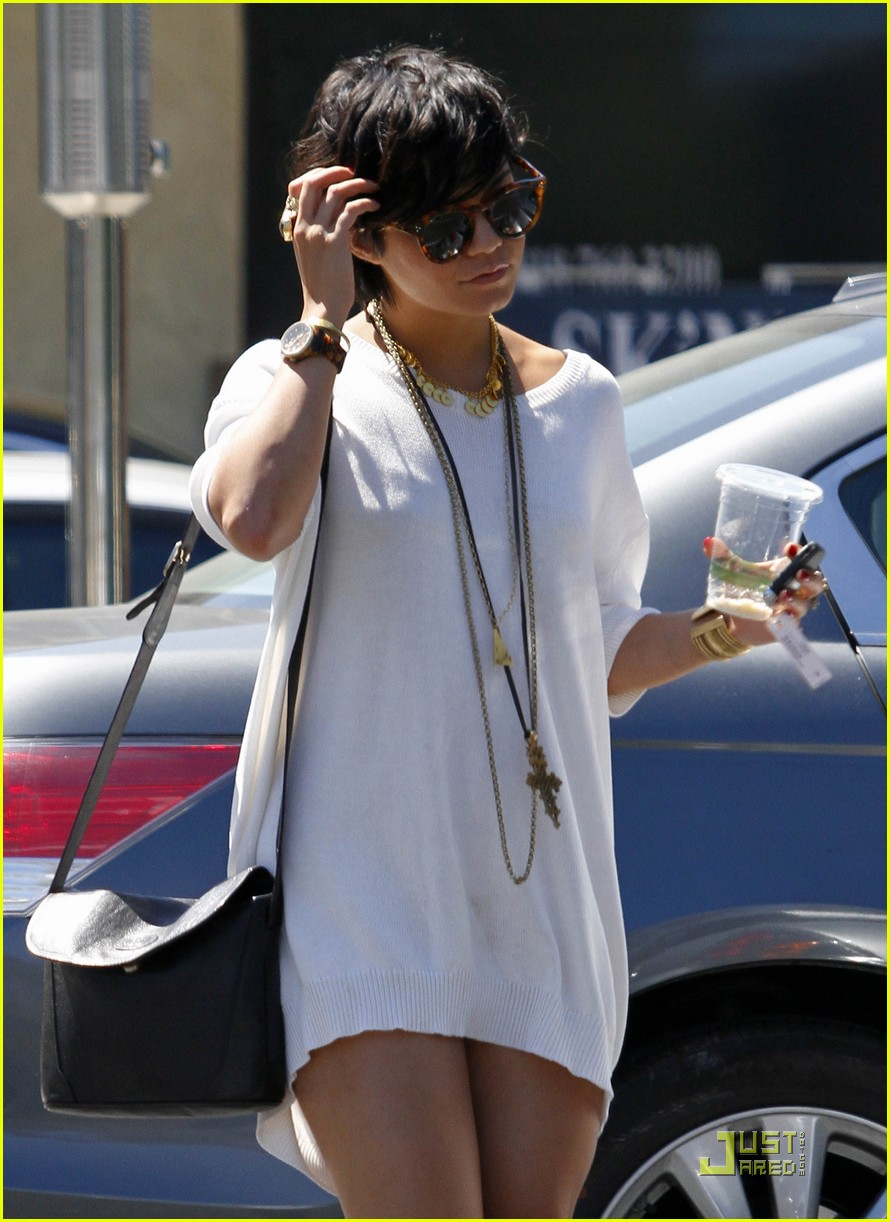vanessa hudgens shirt dress 17
