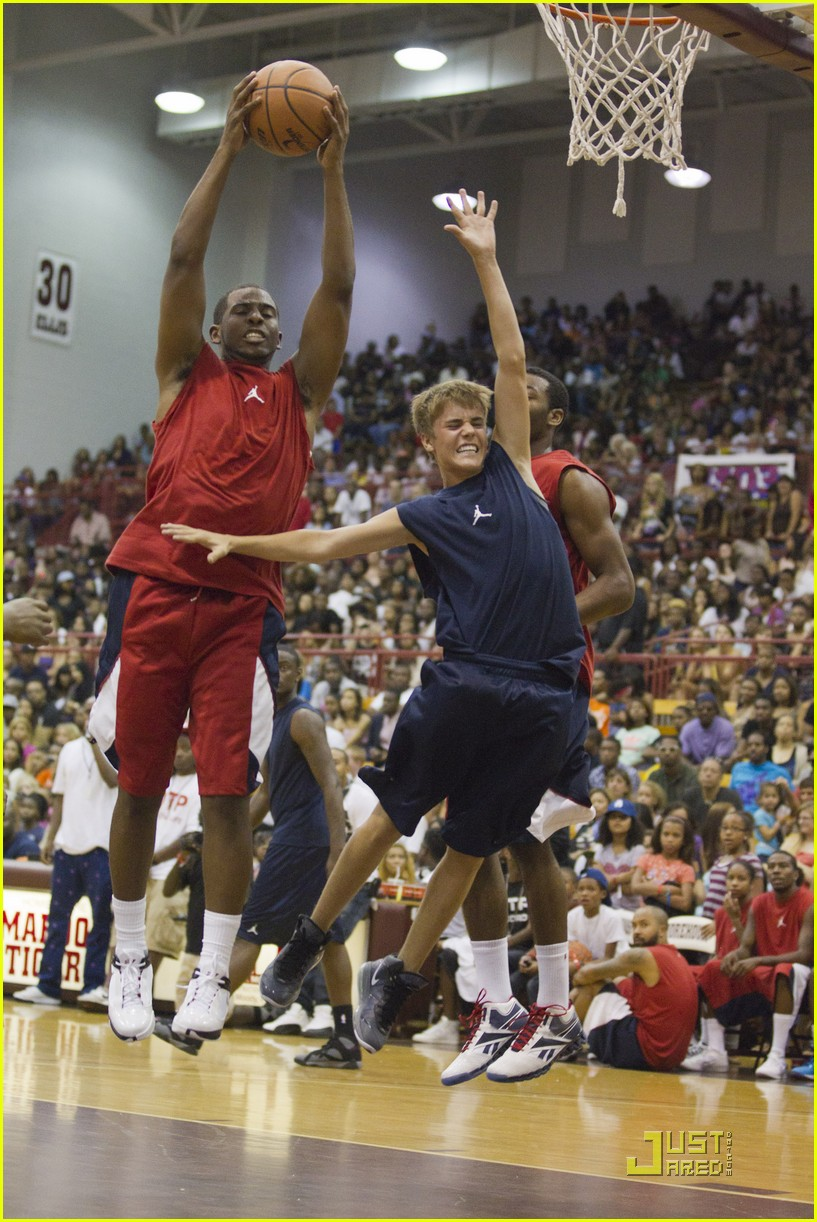 justin bieber basketball charity game 05