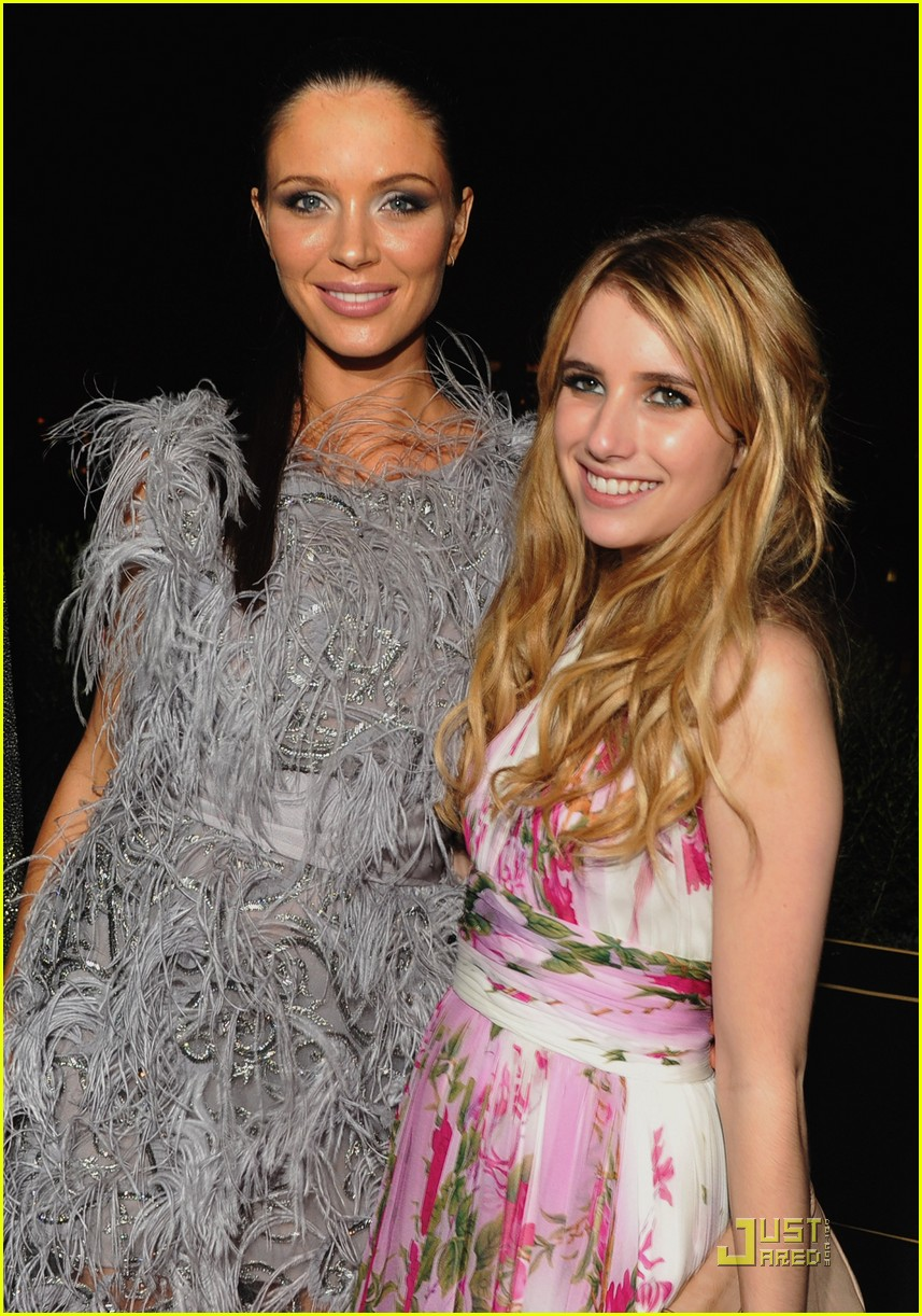 emma roberts marchesa after party 01