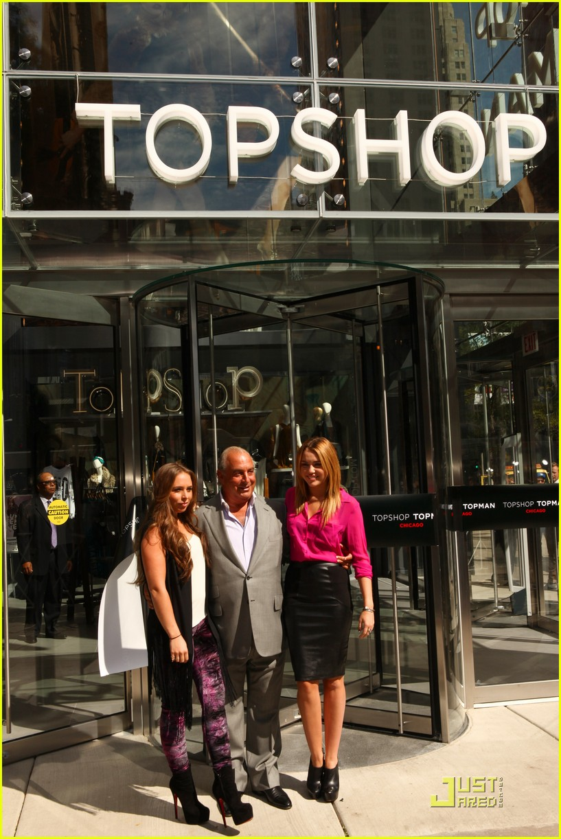 miley cyrus topshop chicago 09