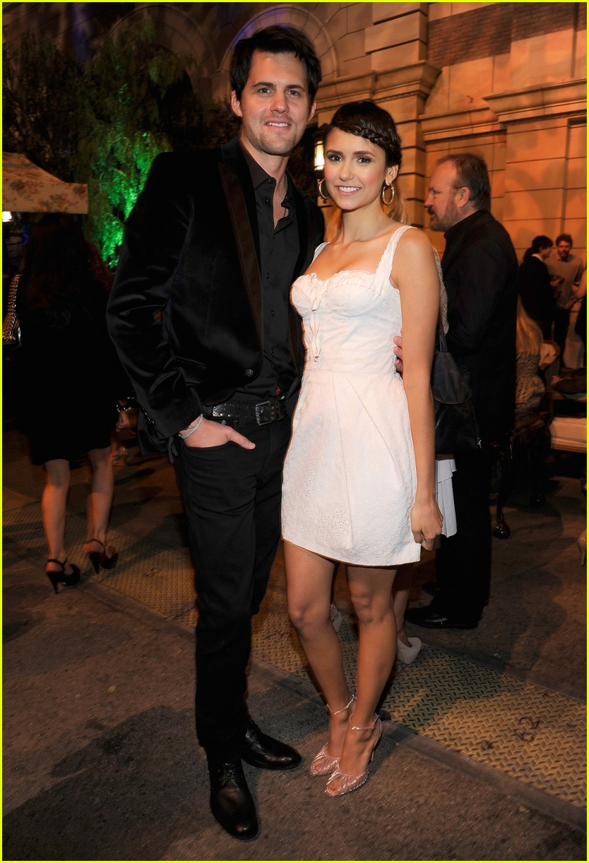 nina dobrev cw party 03