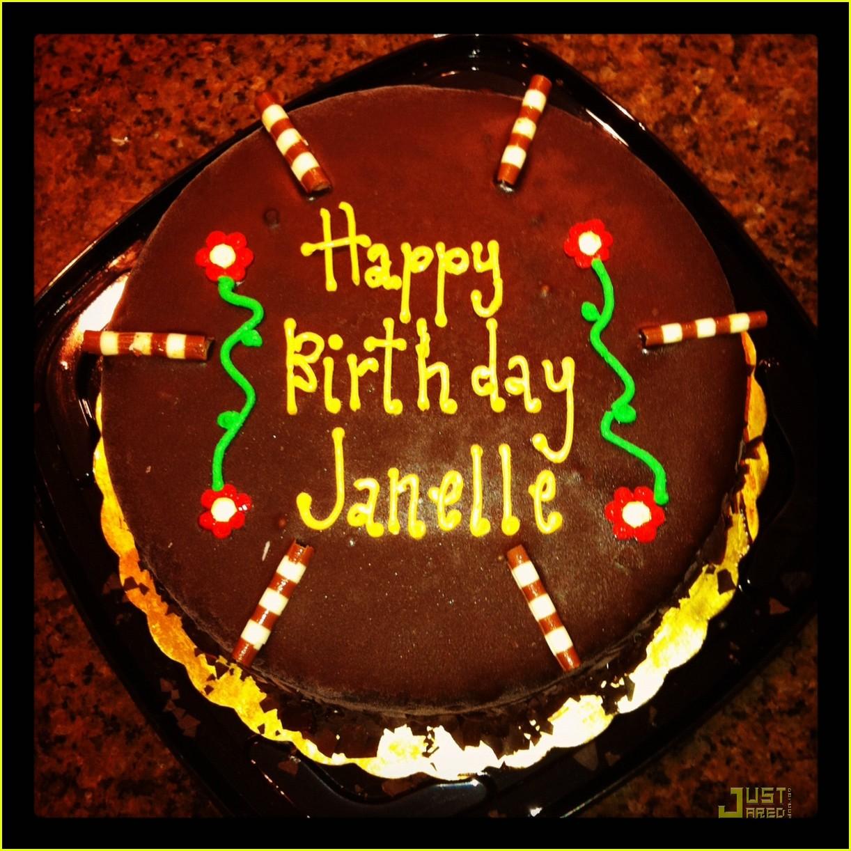 Happy Birthday Janell Cake