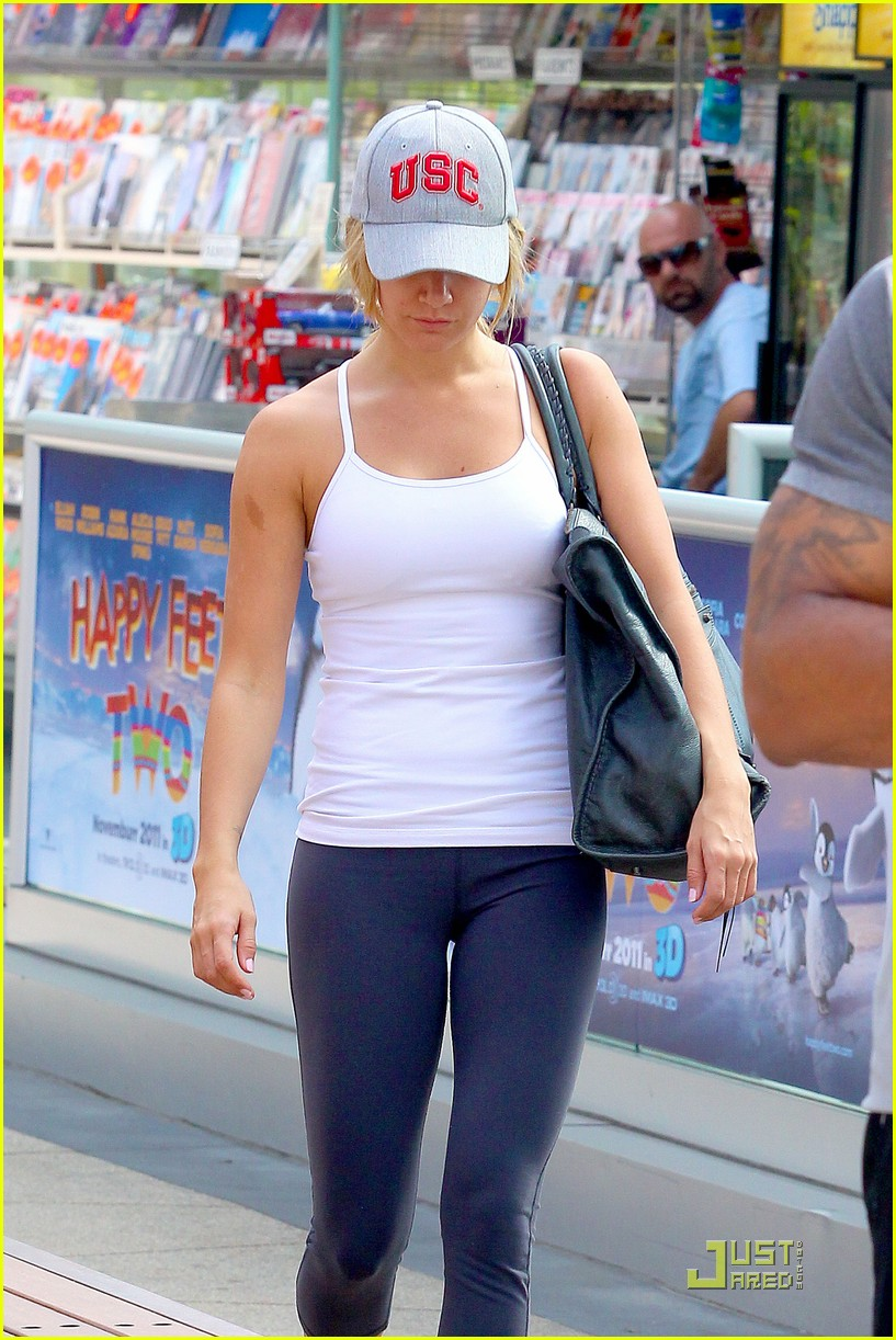 ashley tisdale equinox gym 06