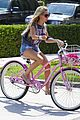 Tisdale-bike ashley tisdale bike ride 11