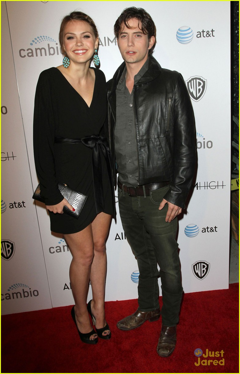aimee teegarden jackson rathbone aim high premiere 07
