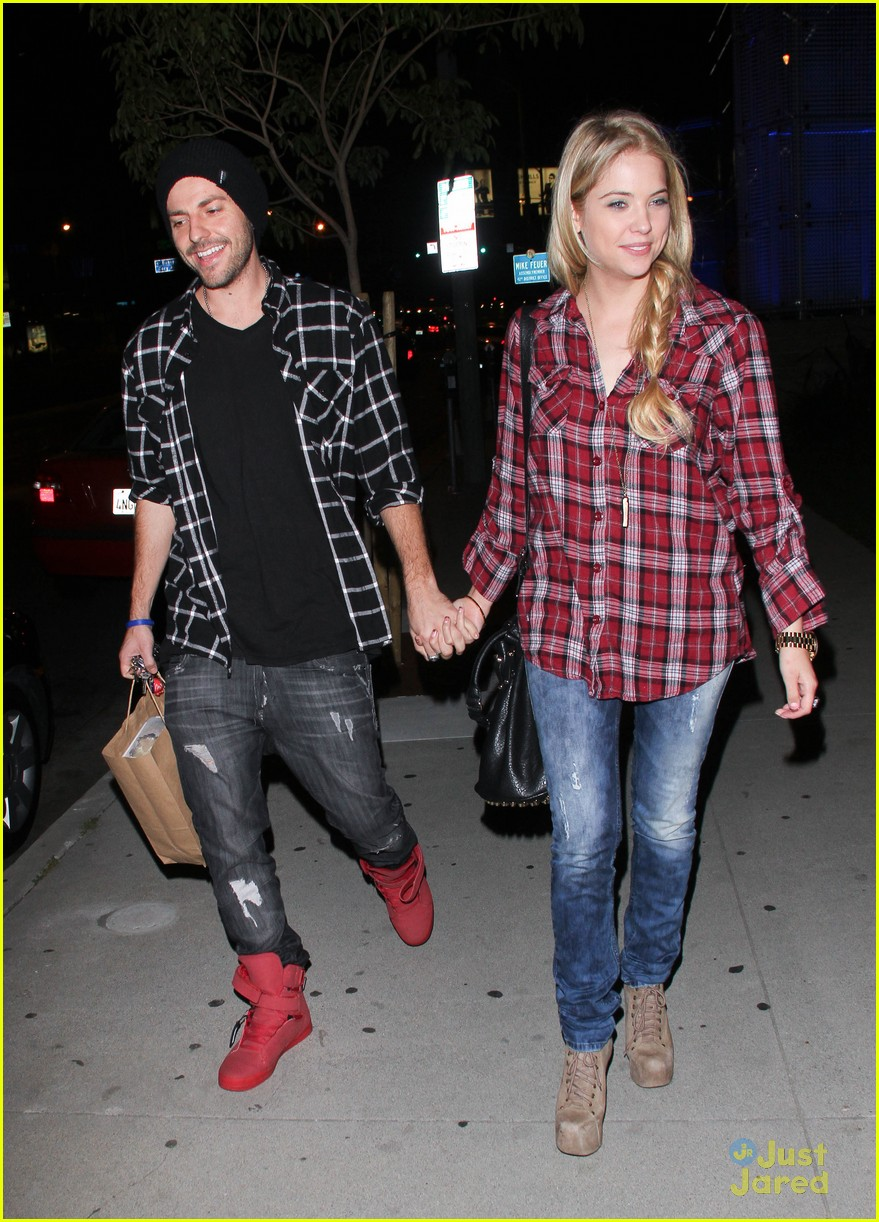 ashley benson ryan good plaid pair 02