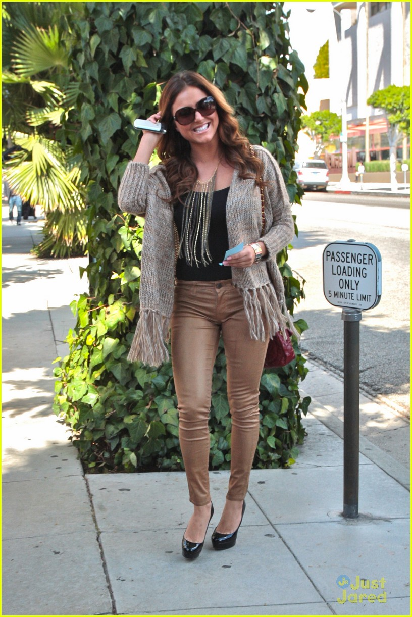 cassie scerbo ivy lunch 06