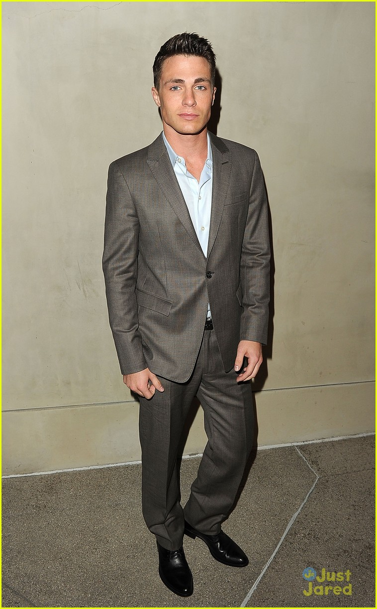 colton haynes armani dinner 02