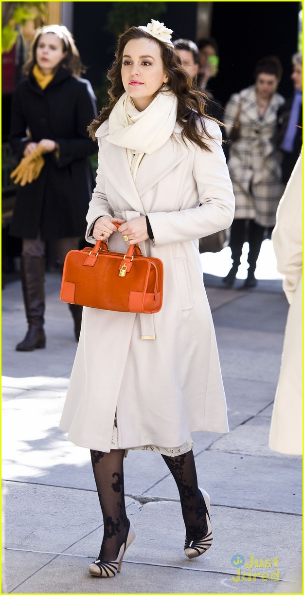 leighton meester wool coat 07