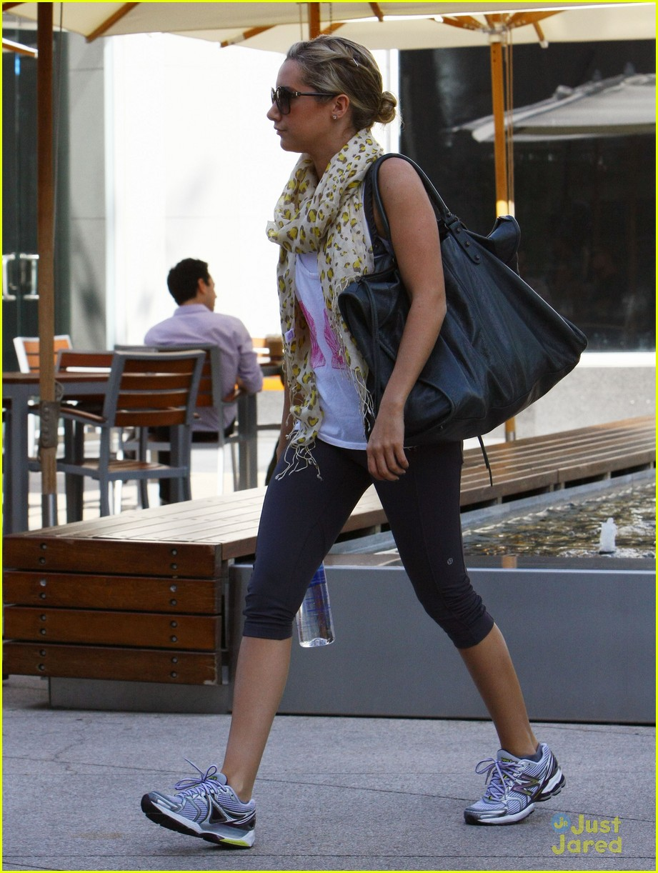 ashley tisdale gym monday 02