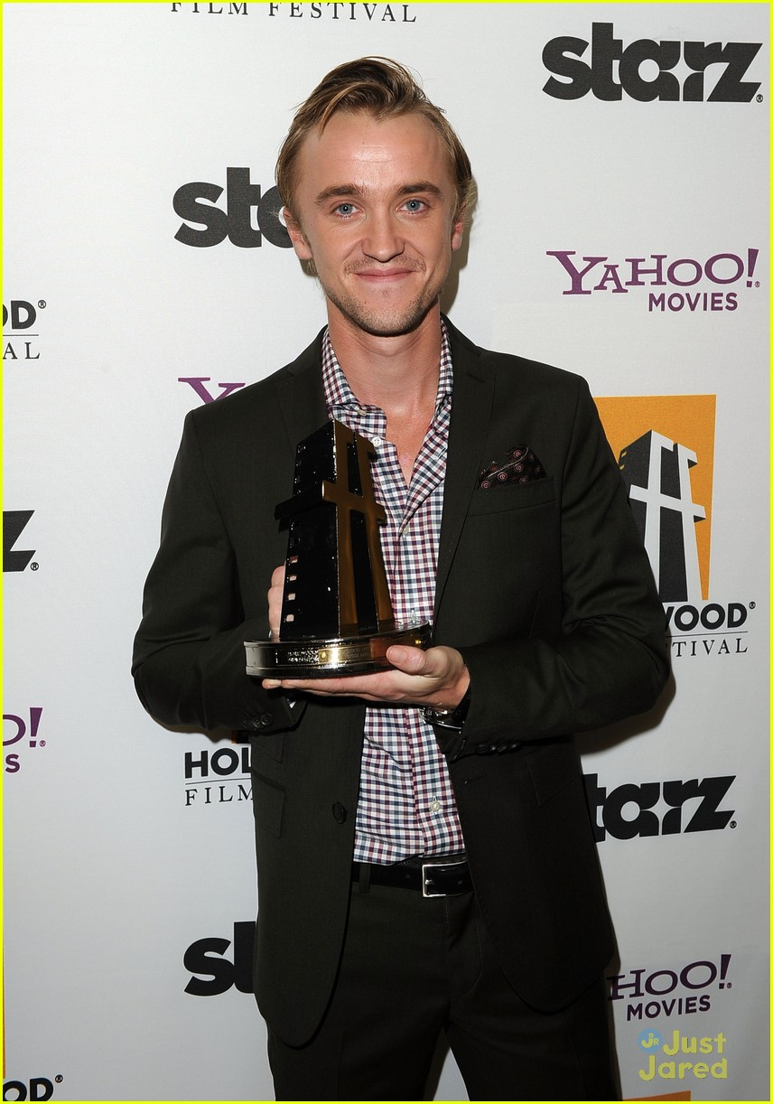 tom felton hollywood film awards 07