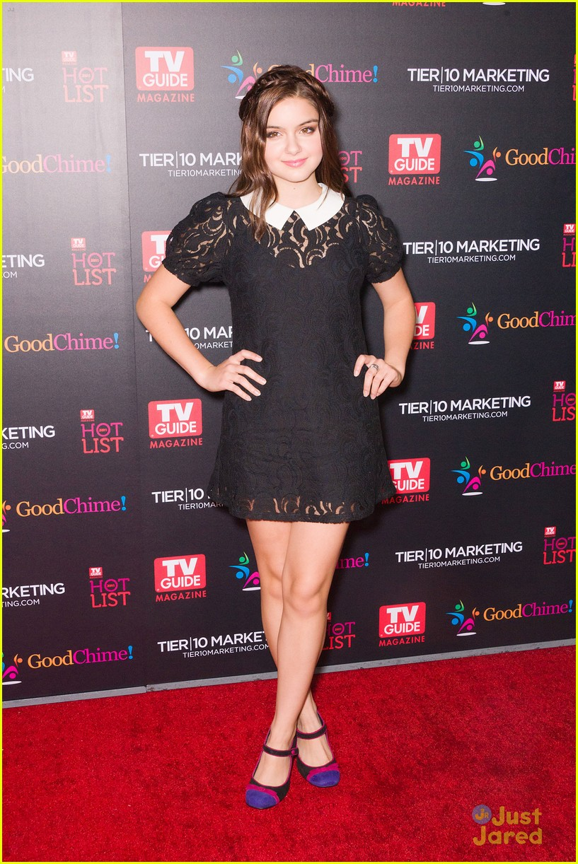 ariel winter nolan gould tv guide 01
