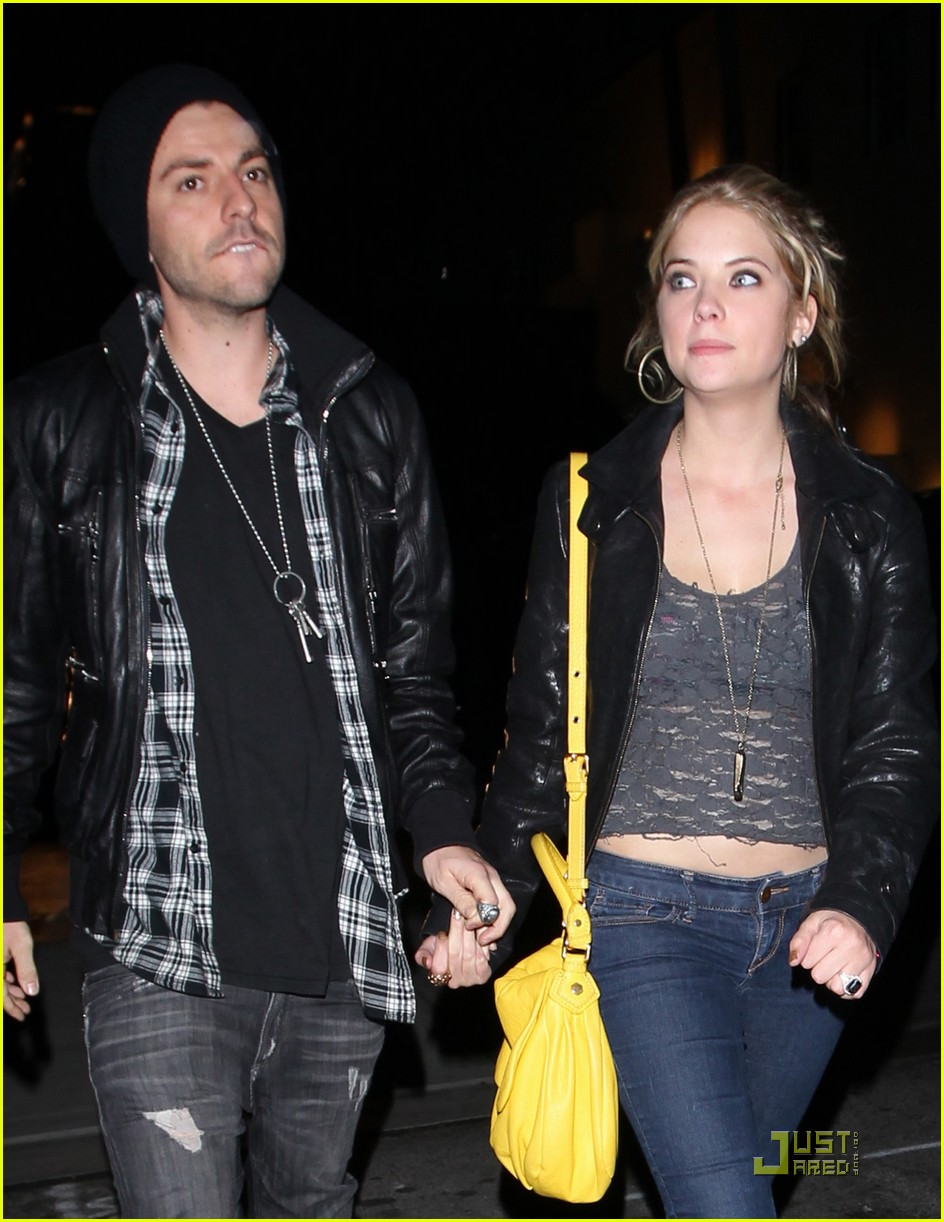 ashley benson holding hands 07
