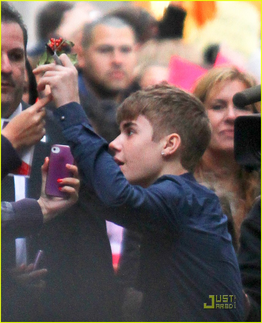 justin bieber today show 10