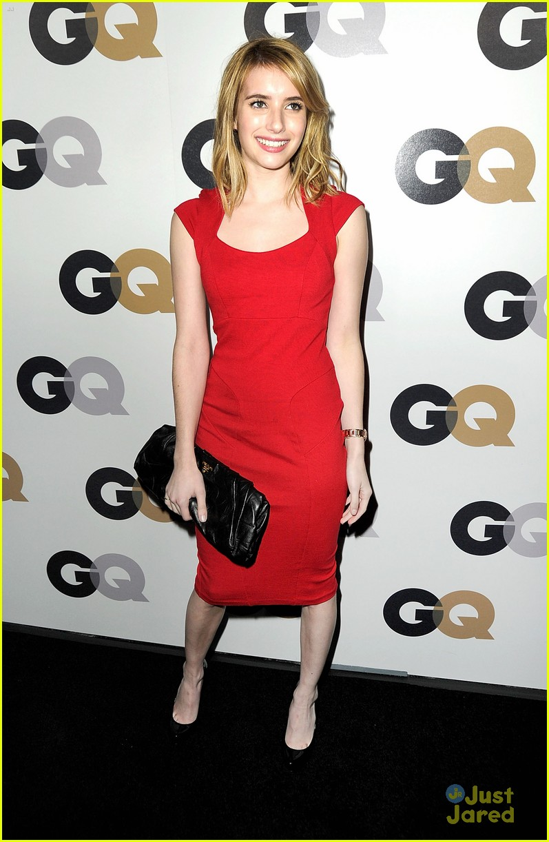 emma roberts gq party 08