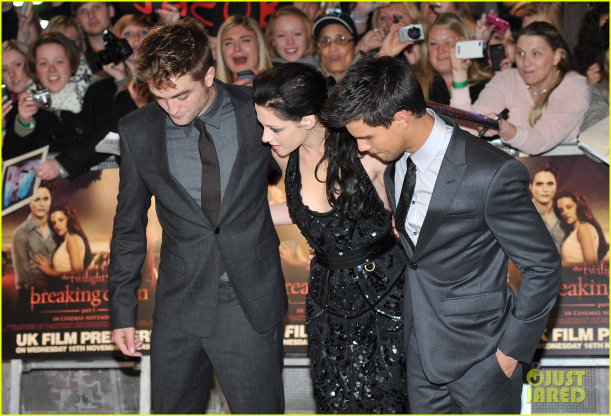 kristen stewart robert pattinson breaking dawn london 11