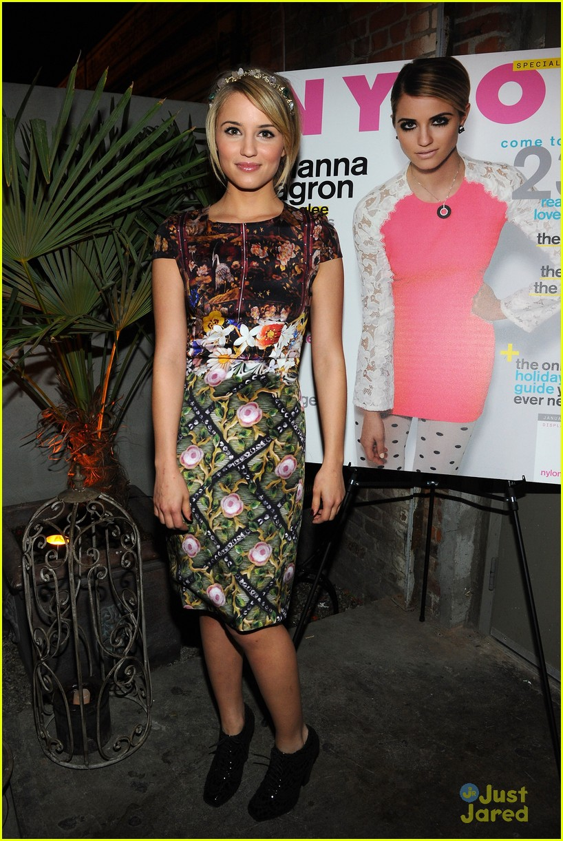 dianna agron nylon party 03