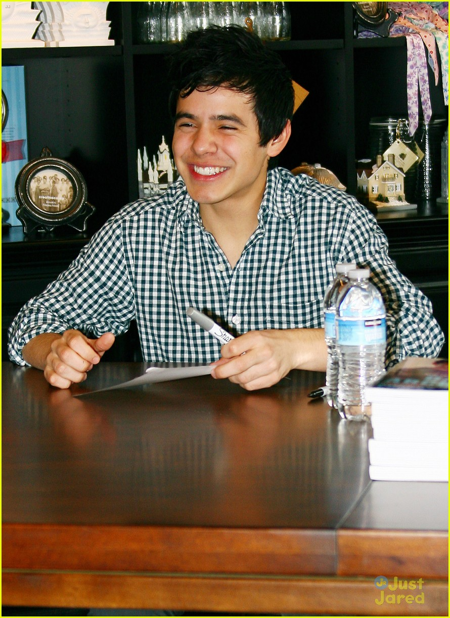 david archuleta book signing 08