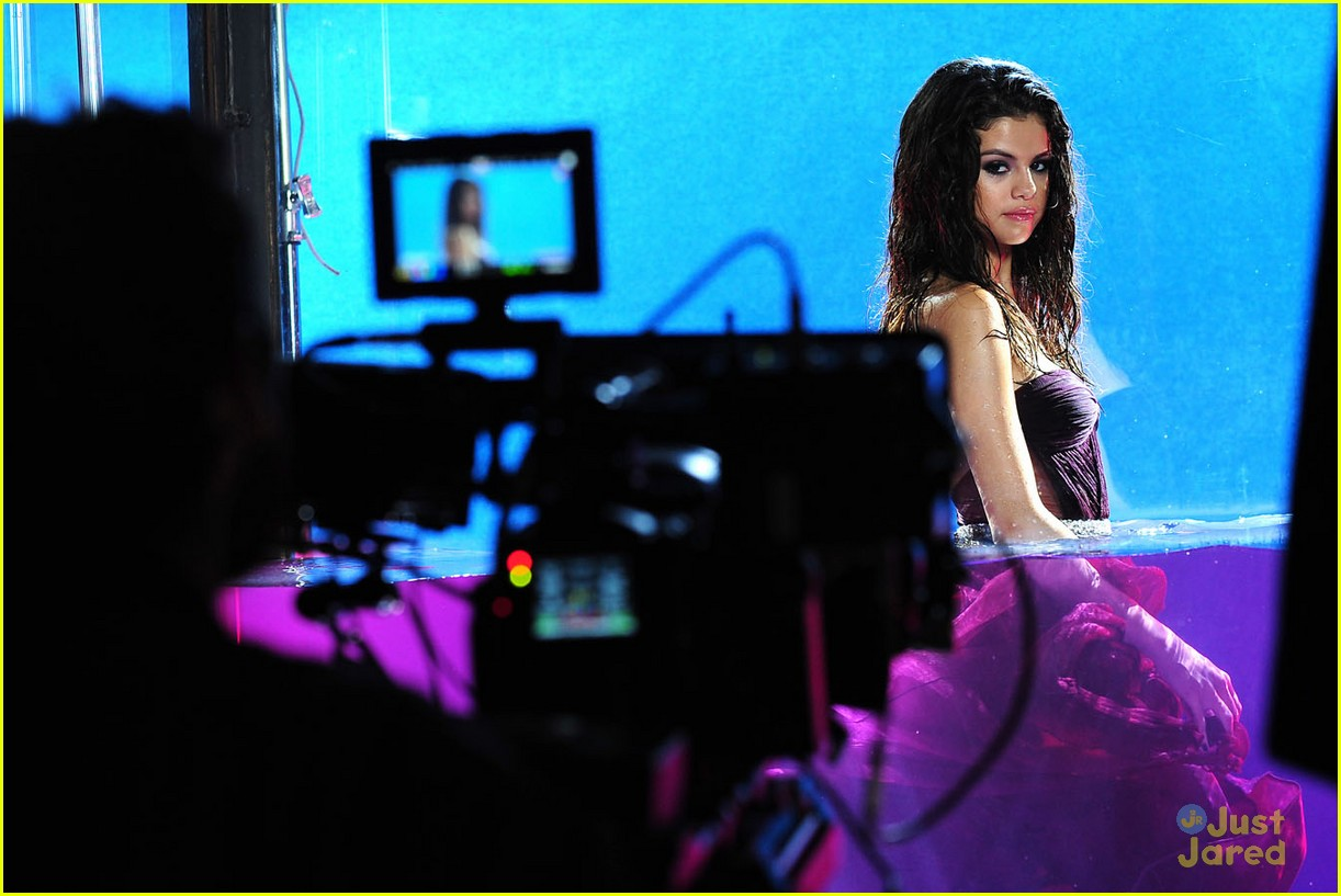 selena gomez fragrance shoot 10