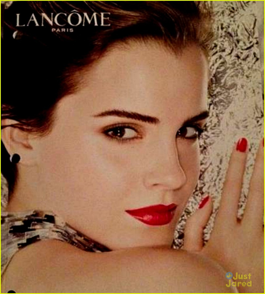 emma watson lancome rouge line 03