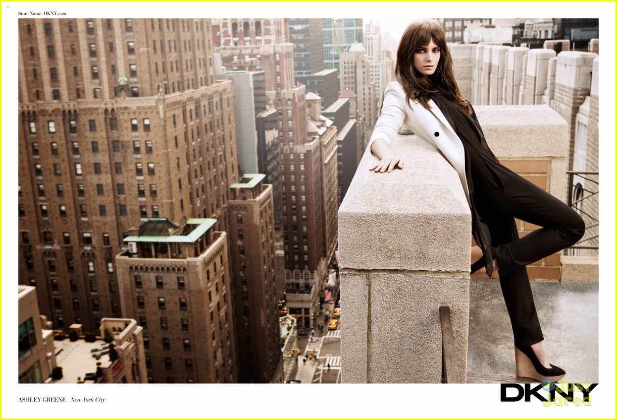 ashley greene dkny spring campaign 02