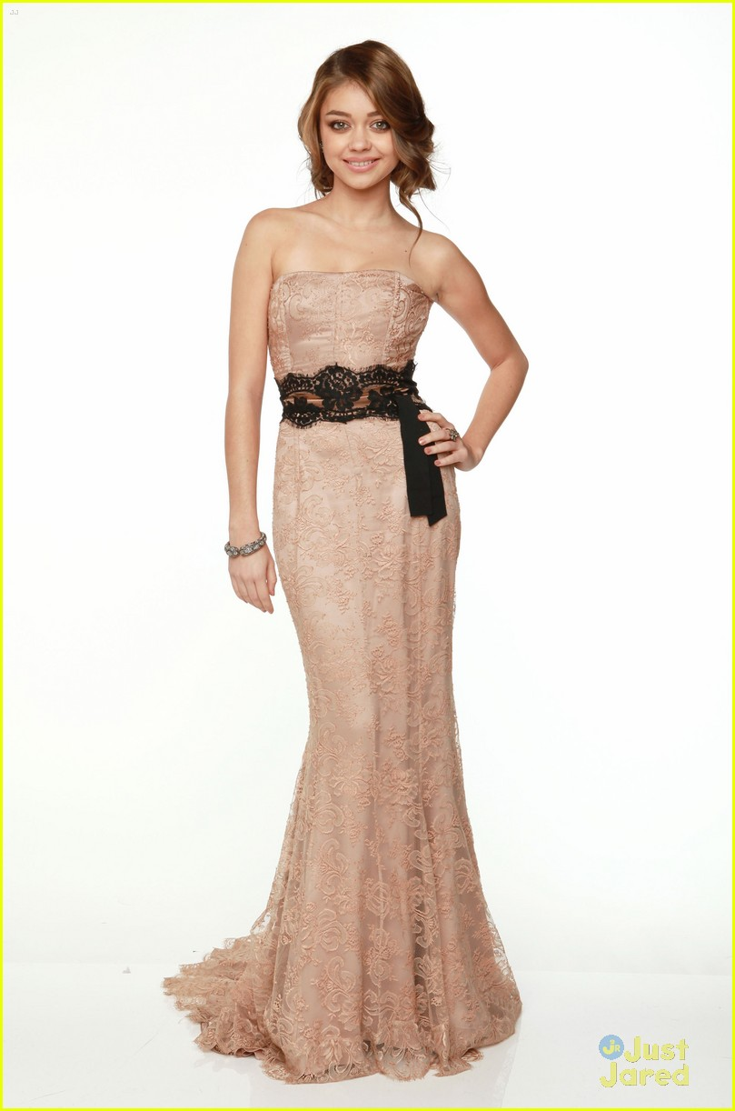 sarah hyland dress globes 15