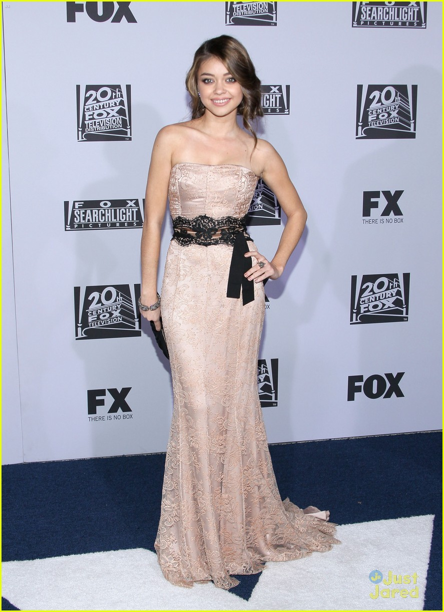 sarah hyland dress globes 18