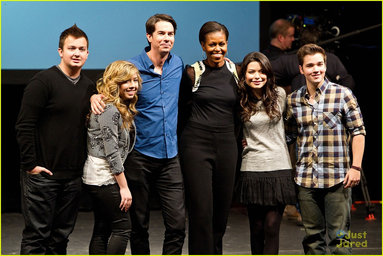 icarly cast dance michelle obama 03