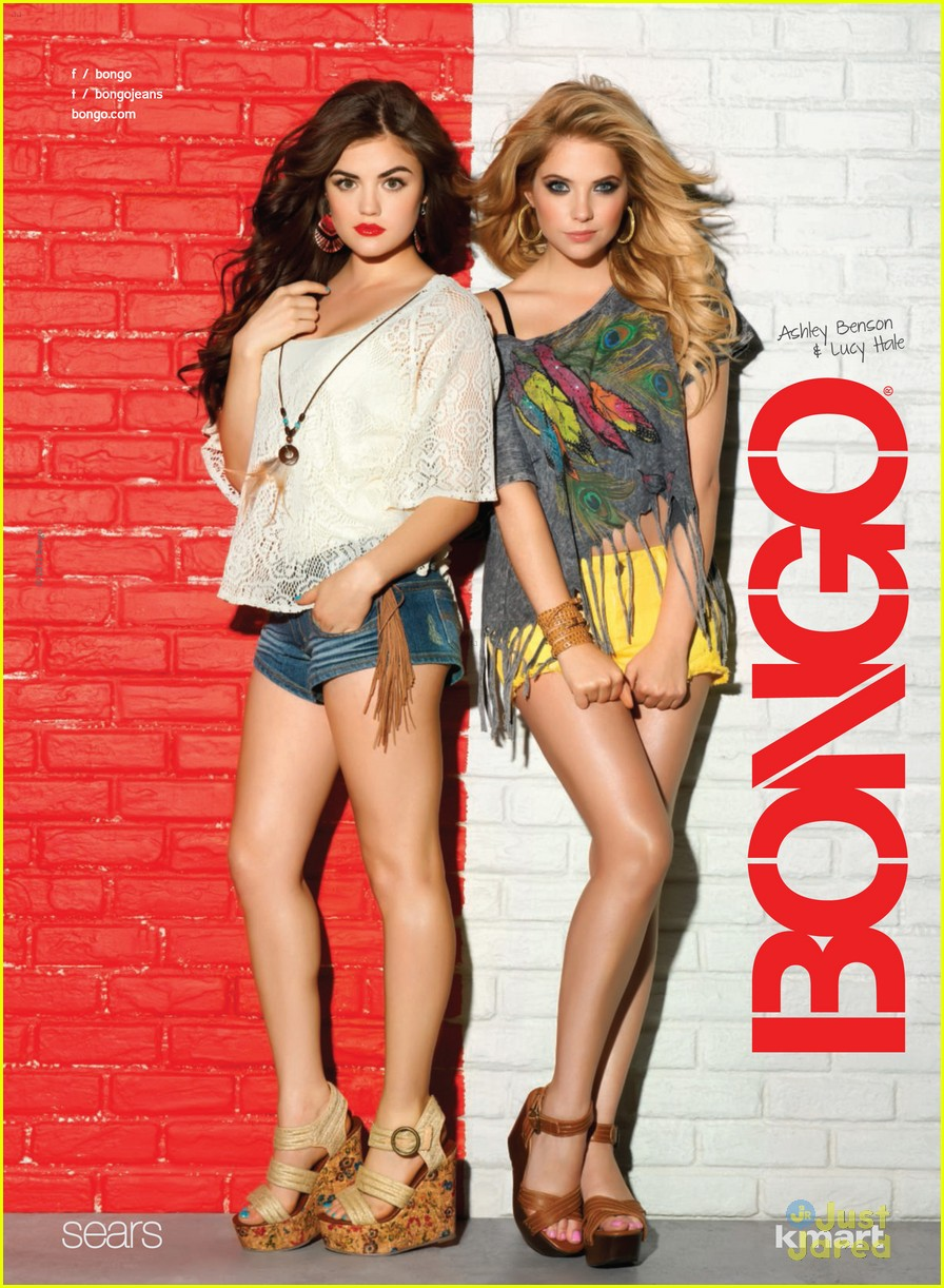 lucy hale ashley benson bongo 16