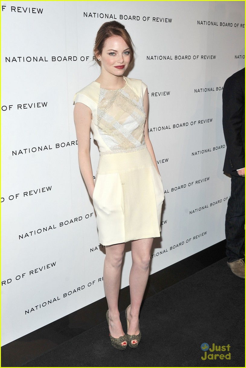 emma stone board review gala 12