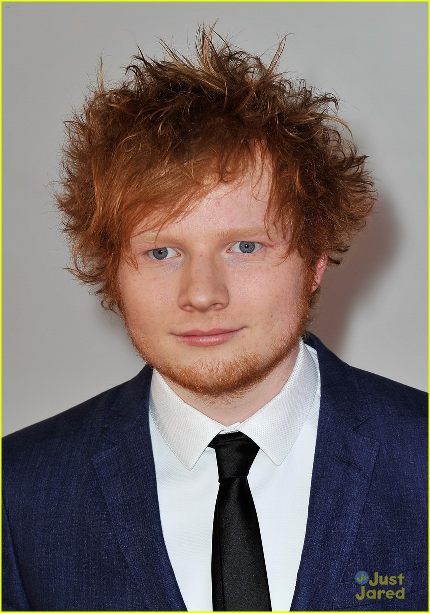 male singer with red hair at the 2015 grammys british red ...