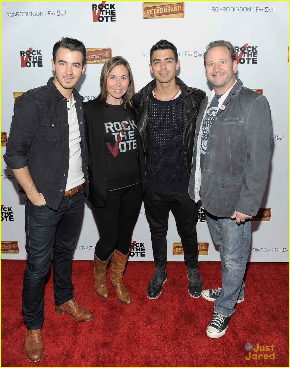 joe kevin jonas rock vote 07
