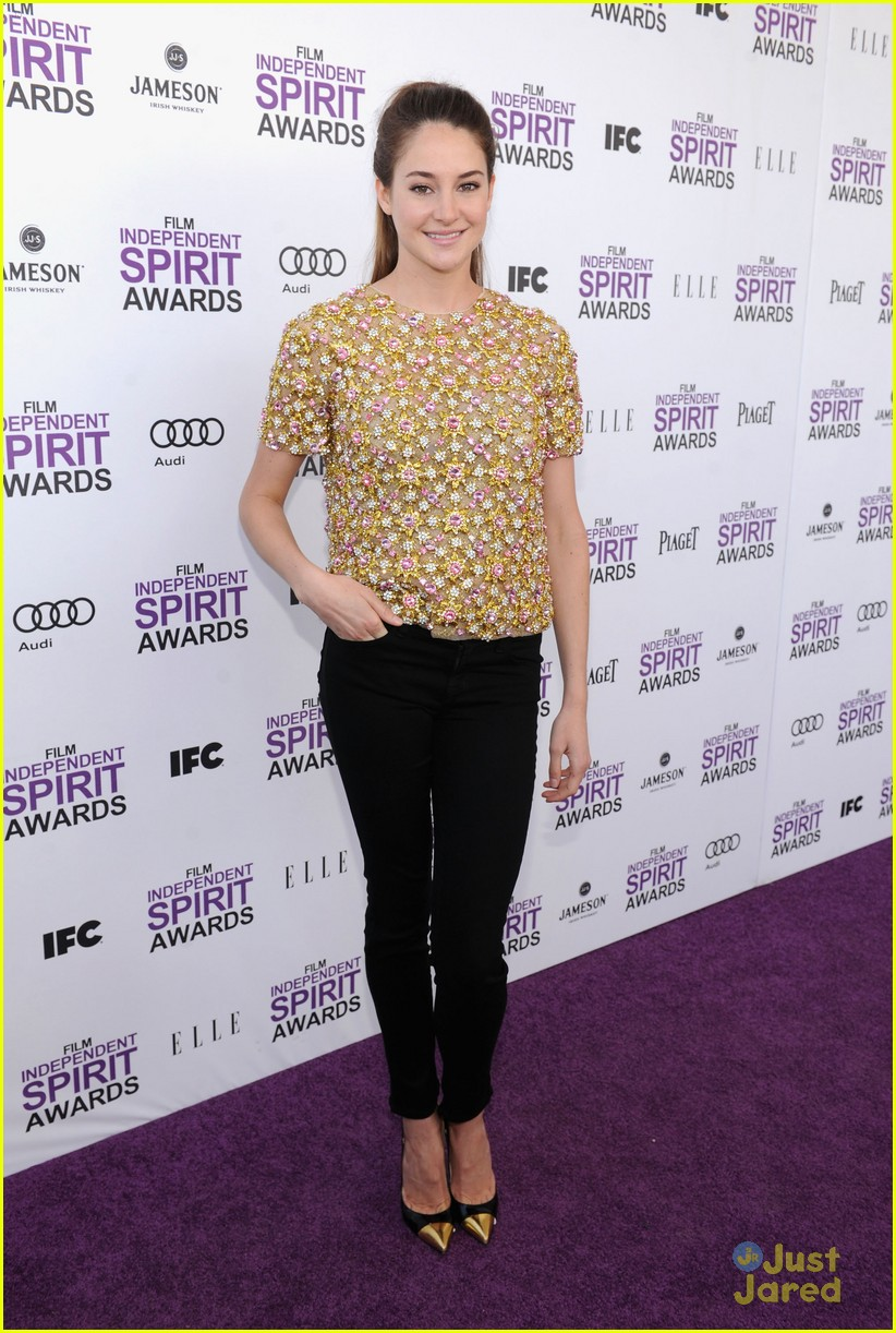 shailene woodley spirit awards 11