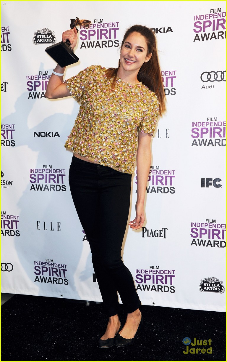 shailene woodley spirit awards 18