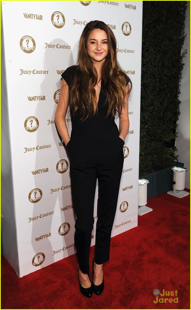 shailene woodley vanities party 05