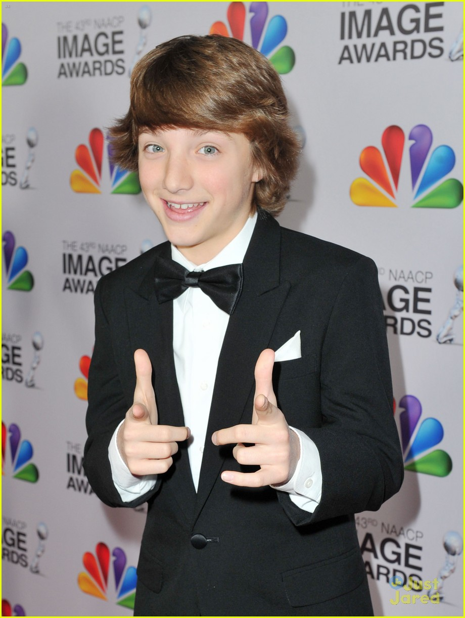 stefanie scott jake short image awards 09