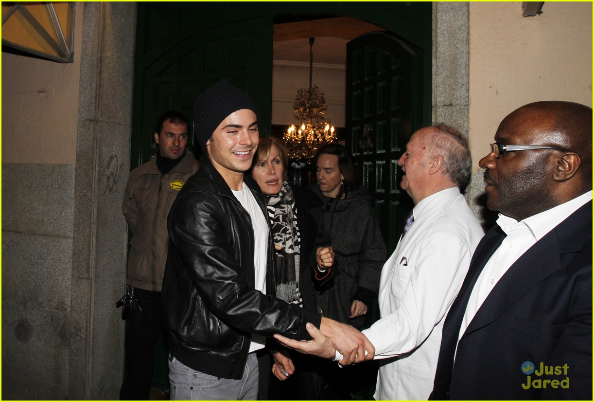 zac efron lorax madrid 09