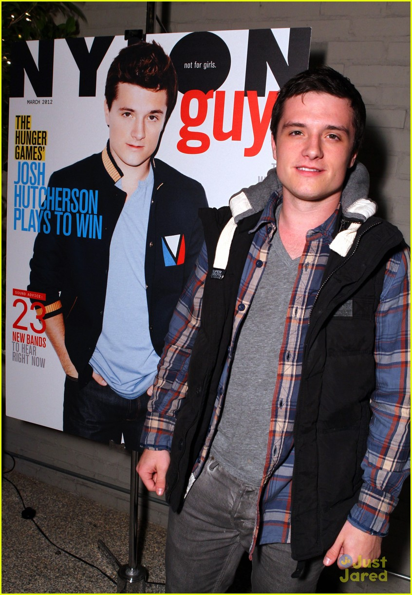 josh hutcherson nylon party 08