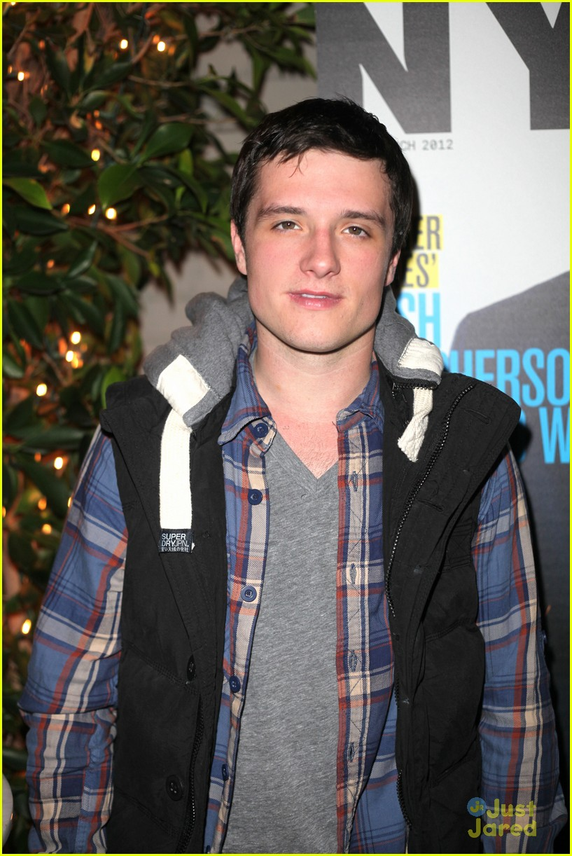 josh hutcherson nylon party 12