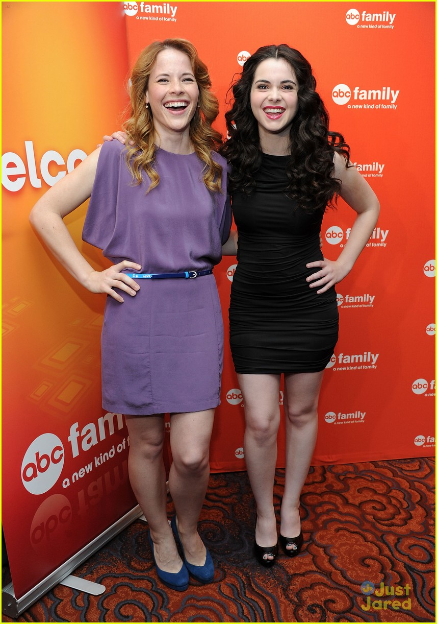 katie vanessa abcfamily upfronts 12