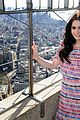 Lily-esb lily collins empire state building 09