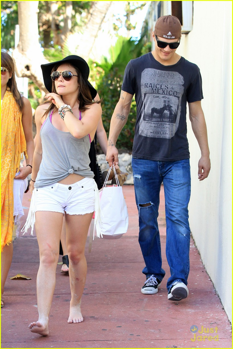 lucy hale ashley benson bongo beach 21