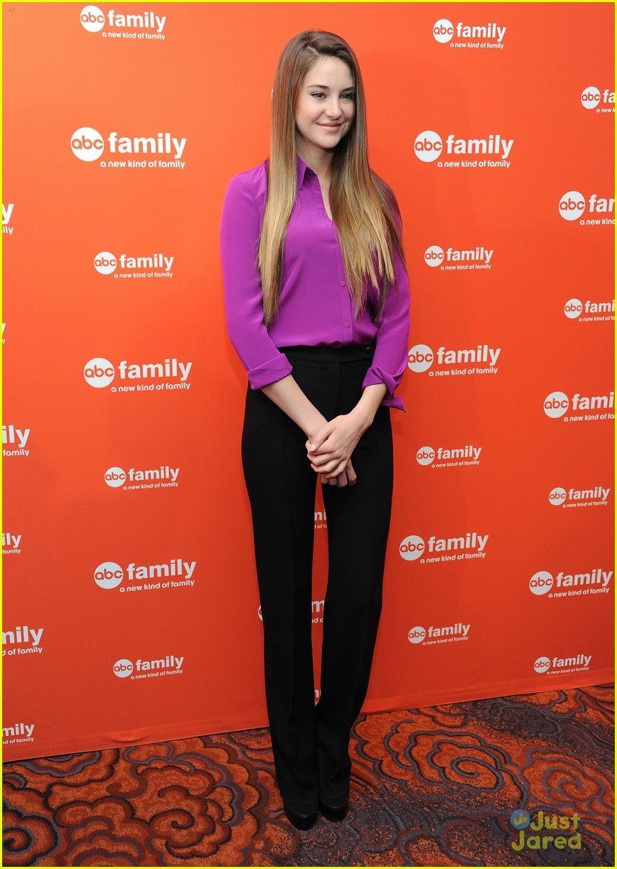 shailene woodley abcfam upfronts 09
