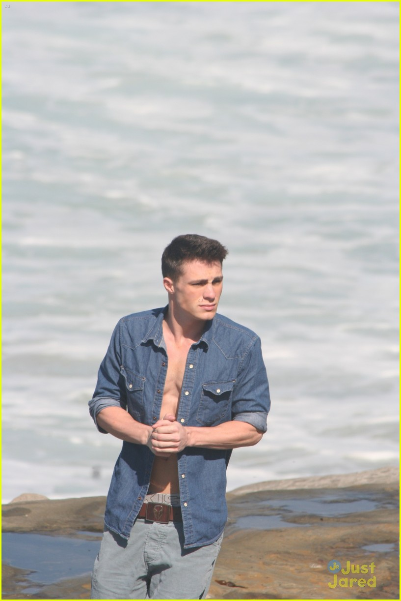 colton haynes beach day 11